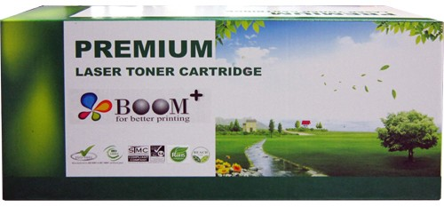 ตลับหมึกพิมพ์เลเซอร์ HP Color LaserJet Pro MFP M476nw / M476dw (HP CF383A สีแดง) BOOM+